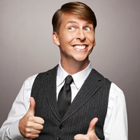 Book Jack McBrayer for your next corporate event, function, or private party.