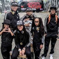 Book The Monster Kids for your next corporate event, function, or private party.