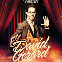 Book David Gerard for your next corporate event, function, or private party.