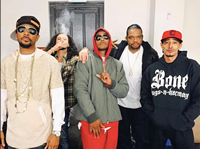 Book Bone Thugs-n-Harmony for your next corporate event, function, or private party.