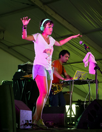 Book Bomba Estereo for your next corporate event, function, or private party.