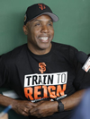 Book Barry Bonds for your next event.