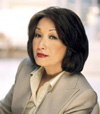 Book Connie Chung for your next corporate event, function, or private party.