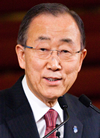Book Ban Ki-moon for your next event.