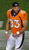 Book Wes Welker for your next event.
