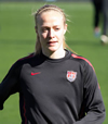 Book Becky Sauerbrunn for your next event.