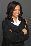 Book Judge Faith Jenkins for your next corporate event, function, or private party.