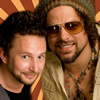 Book Michael Glabicki & Dirk Miller of Rusted Root for your next event.